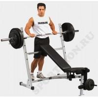 Универсальная скамья для жима-Body Solid Powerline POB44