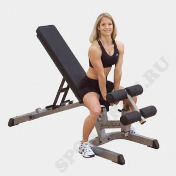 Универсальная регулируемая скамья-Body Solid GFID-71