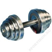 Гантель разборная металлическая Атлант 12 кг