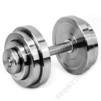 Гантель разборная металлическая Атлант 22 кг