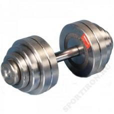 Гантель разборная металлическая Атлант 25 кг
