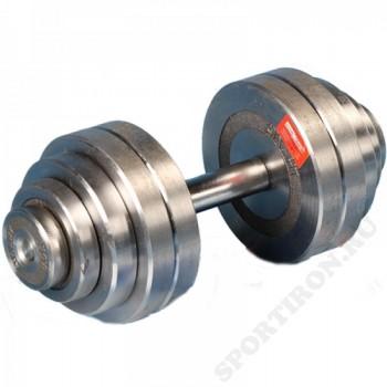 Гантель разборная хром Атлант 25 кг