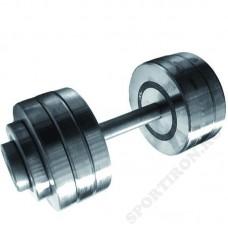 Гантель разборная металлическая Атлант 35 кг