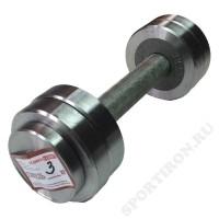 Гантель разборная металлическая Атлант 3 кг