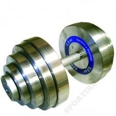 Гантель разборная металлическая Атлант 40 кг