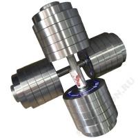Гантель разборная металлическая Атлант 60 кг