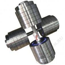 Гантель разборная металлическая Атлант 60кг