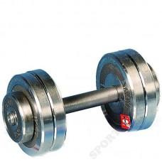 Гантель разборная металлическая Атлант 8 кг