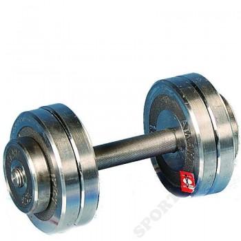Гантель разборная хром Атлант 8 кг